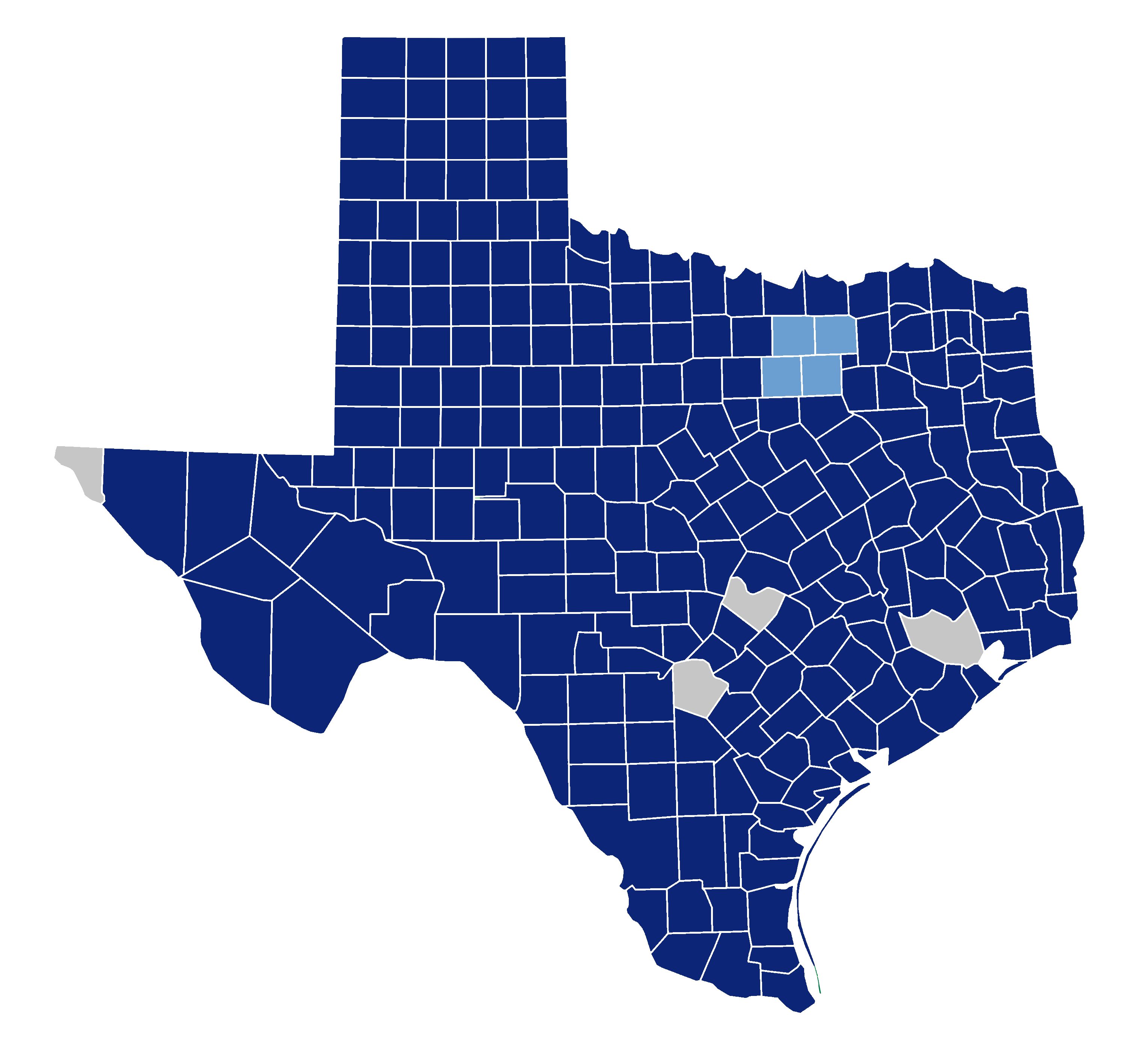juvenile counties